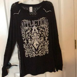 Ladies AFFLICTION shirt